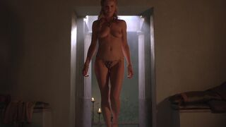 "Viva Bianca taking a bath in ""Spartacus"""
