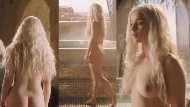 Emily Clarke  nackt