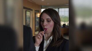 Alison Brie brief lollipop