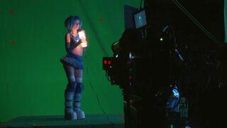 Ana de Armas Blade Runner 2049 behind the scenes dance