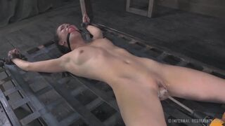 Casey Calvert is getting worked out