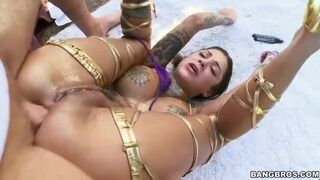 Bonnie Rotten is Squirting in her Mouth