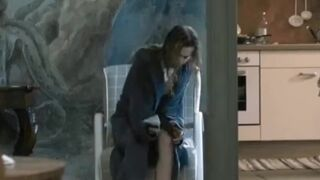 Sylvia Hoeks sucking her toe and spreading her legs in 'The Best Offer'