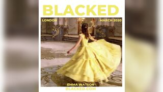 Emma Watson for BlackedRaw. What would you like to see so down in this scene