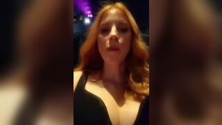 My wife Jessica Chastain surprised me by sending me a video of her at a premiere. It turned out it was for a BLACKED production, which I had no idea of. But I'm glad she's able to expose me as a loser cuck for her.