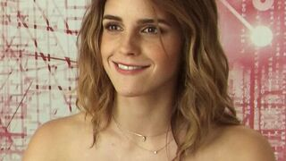 Emma Watson can't bear to think about being touched by a whiteboi after getting blacked.