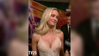 Brie Larson's reaction when she's asked about whitebois. She'll make it clear on live TV that her body belongs to BBC alphas and millions of betas will love her even more for it.