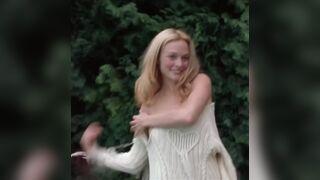 Heather Graham stripping