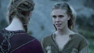 Gaia Weiss in 'Vikings'