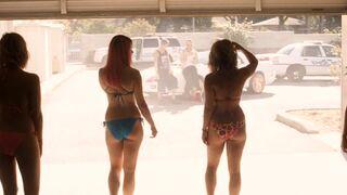 Selena Gomez,Vanessa Hudgens,Ashley Benson and Rachel Korine