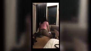 Chloe Bennet shaking that fine ass.