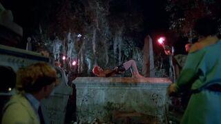 Linnea Quigley in Return of the Living Dead