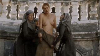 "Lena Headey's ""Walk Of Shame"" from GOT--Tits, Ass and Bush"